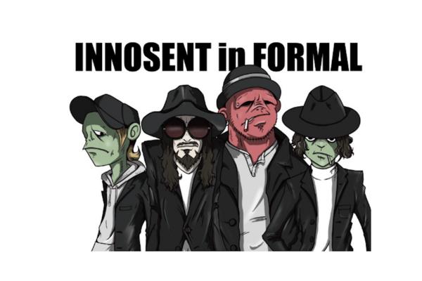 INNOSENT in FORMAL 新感覚なサウンドと世界観を放つ架空のカートゥーン・バンド
