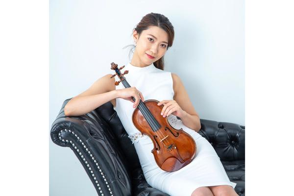 小林修子 豊かな表現力で「音を演じる」ヴァイオリニスト