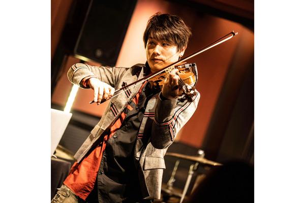 後藤泰観 ポップカルチャーシーンの最前線で活躍を続ける実力派バイオリニスト