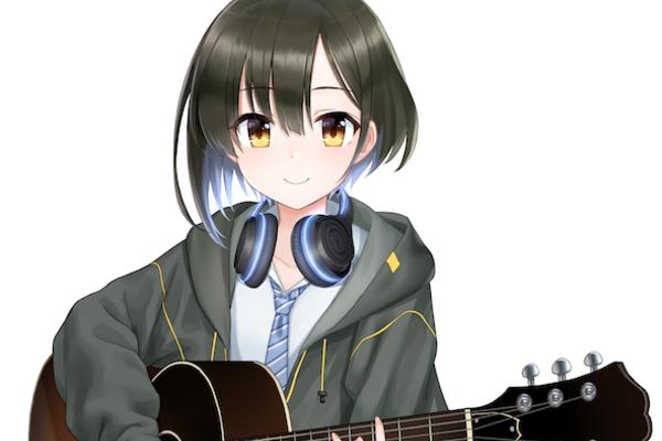 鷹森ツヅル 中性的なボーカルで魅了する武器の多いバーチャルシンガーソングライター
