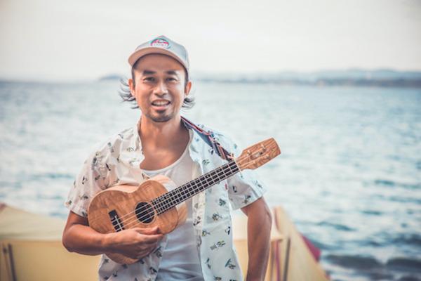 miya takehiro(宮 武弘) ウクレレ片手に全国各地で歌うアウトドアへの愛