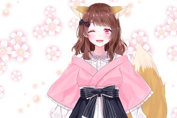 お狐様ゆいの マイペースなキャラクターと狐耳でリスナーの人気を集めるVtuber