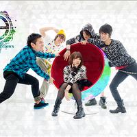 力強いカラフルロックバンド!【ColorColorClown】